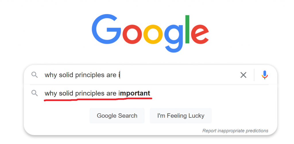 why solid principles are important